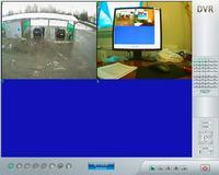 Zwężony obraz kamer przy rozdzielczosci 704x576