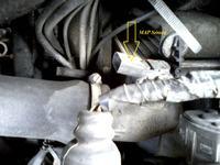 VW Passat B5 1.8T 99r. AEB - MAP sensor nie pod��czony, turbo nie dzia�a