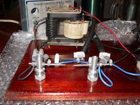 Głośnik plazmowy dzwięk z iskry
