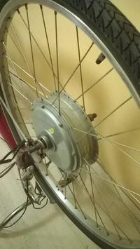 Mocowanie silnika elektrycznego do roweru