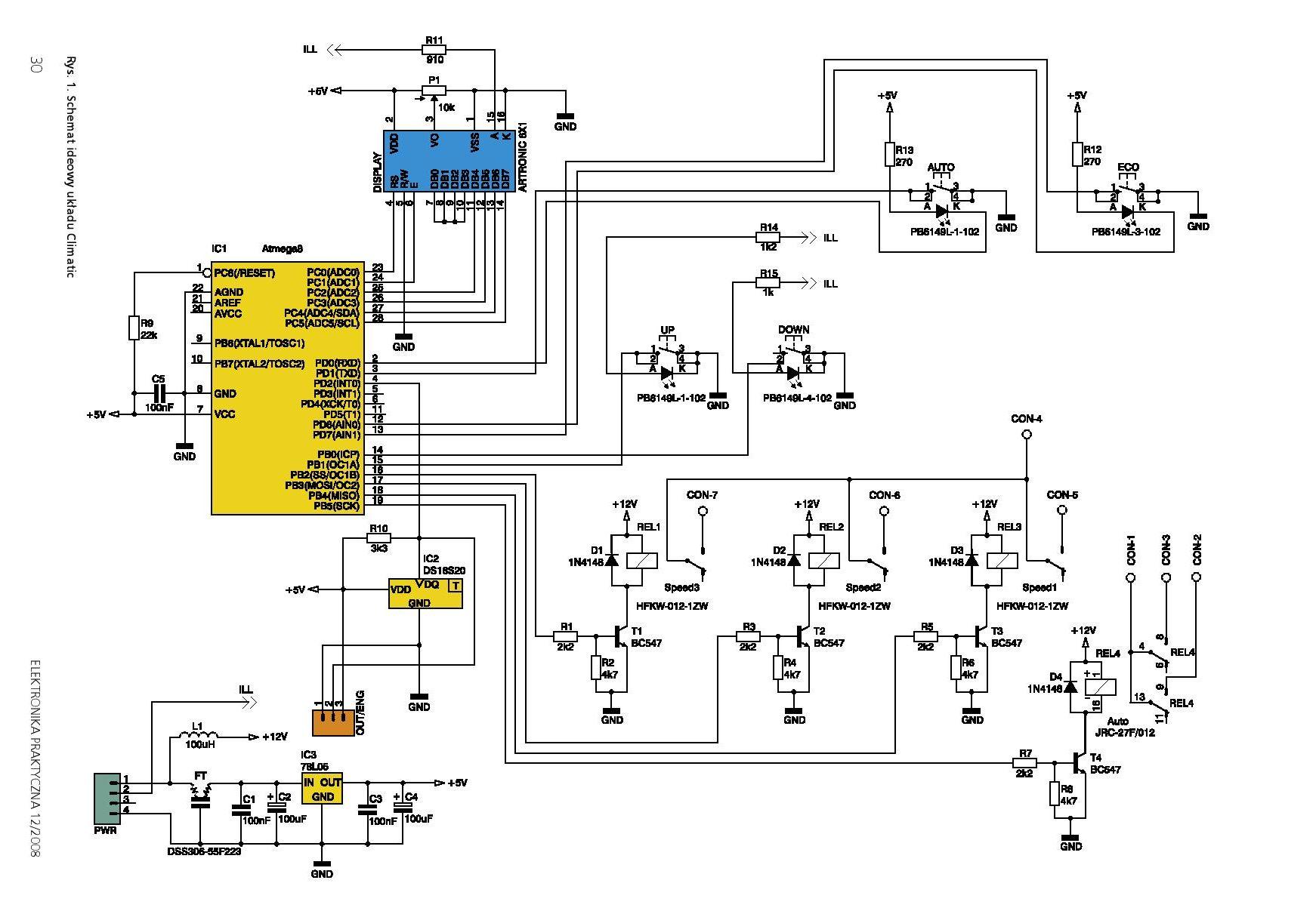 atmega8 - avt-5160 climatic zawiesza si� przy uruchamianiu