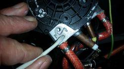 Ekspres Saeco HD8751 - Wyświetla duży klucz i cyfrę 11, wyś. świeci na czerwono