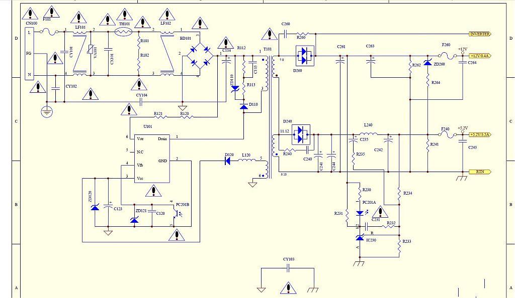 samsung 940MW - modu� zasilania z inwerterem