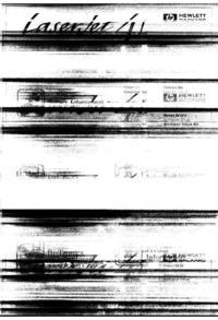 HP LaserJet 4L - czy światło LASERa można zobaczyć ?