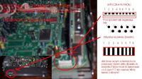KEH-P8600R -naprawa, połaczenie panela z radiem kabelkami