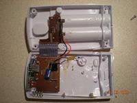 Czujnik zewnętrzny stacji pogody - szybko wyładowuje baterie