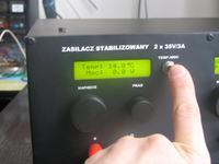 Zasilacz stabilizowany 2x35V/3A by byzio