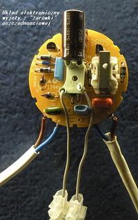 """Pomysł...świetlówka z """"żarówki"""" oszczędnościowej."""
