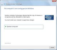 Microsoft walczy z nielegalnymi kopiami Windows 7