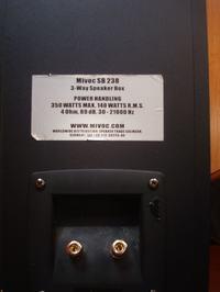 Kolumny MIVOC SB 238 - naprawa ?