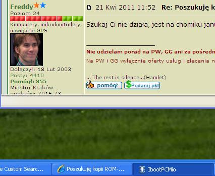 Poszukuj� kopii ROM-u  do nawigacji MIO C720 wersja R23.3.9939.0511