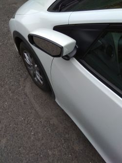Honda Civic IX - Składanie lusterek