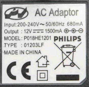 12V/1500mA - Zasilanie do Arduino
