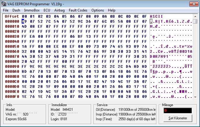 Sterownik 6Q0 909 605 B zapytanie  b��d Crash data?