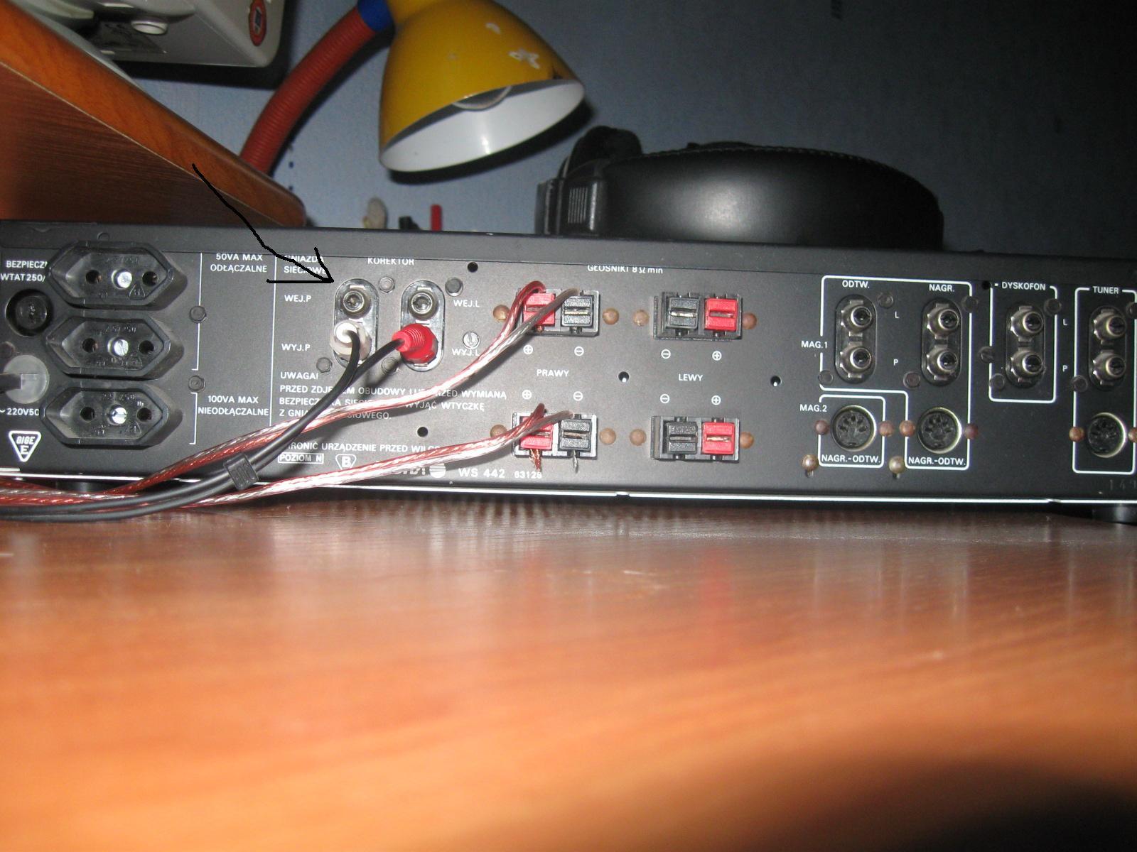 Diora WS-442/Toshiba SB-M12 - Pod��czenie komputera do diory i po��czenie wmacni