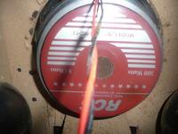WHARFEDALE PRO SVP-12-zamiast oryginalnych głośników spalone RCS om-rc 12