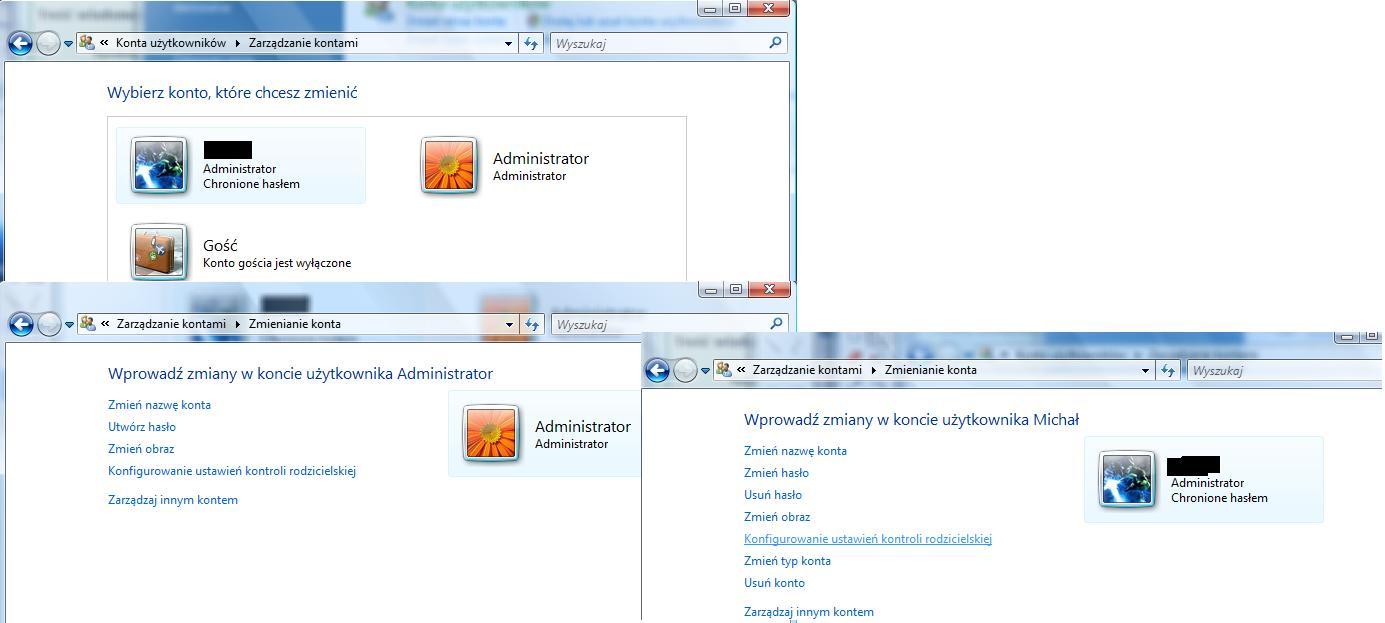 hp pavillion 1040ew - VISTA usuwanie konta administratora