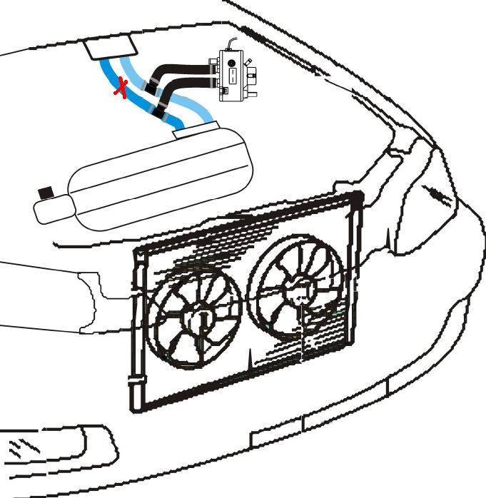 Opel Vectra A 2.0 8V - Elpigaz Comet - szronieje parownik
