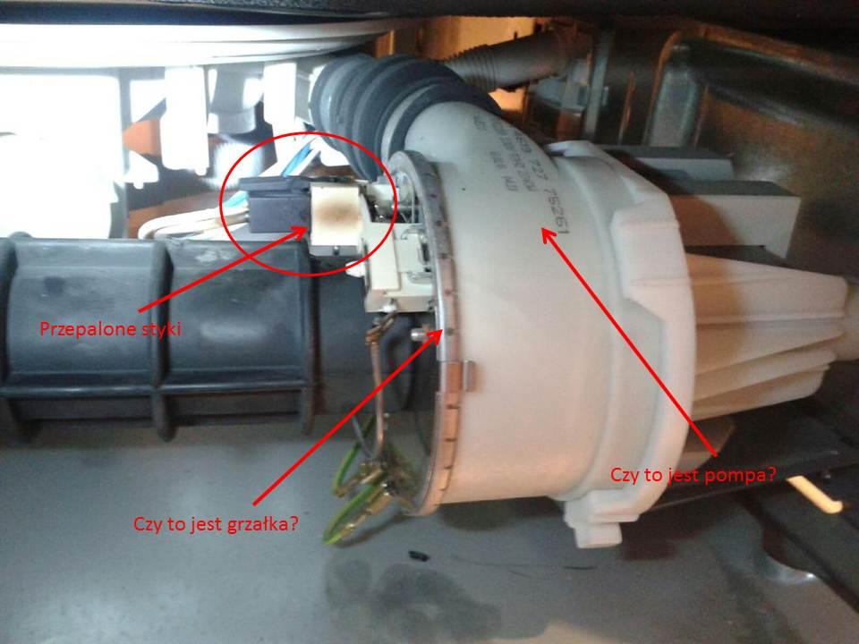 Whirlpool ADG7440/2 - Grza�ka pompy do wymiany