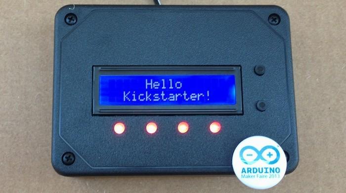 ControLeo czyli programowalny sterownik Arduino z LCD