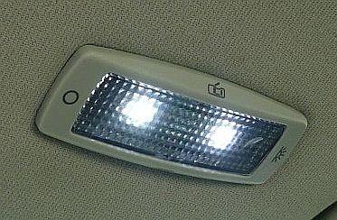 Golf IV o�wietlenie kabiny