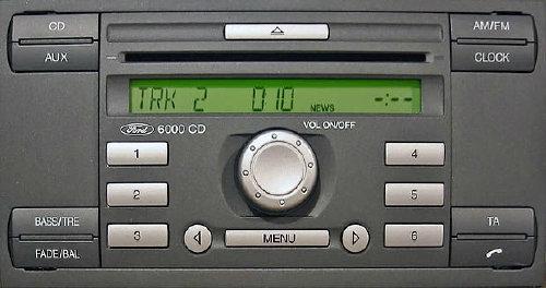 Ford Visteon 6000cd brak aktywnej funkcji fade