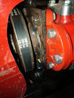 """Zbiornik hydrauliczny w ciągniku typu """"SAM"""""""