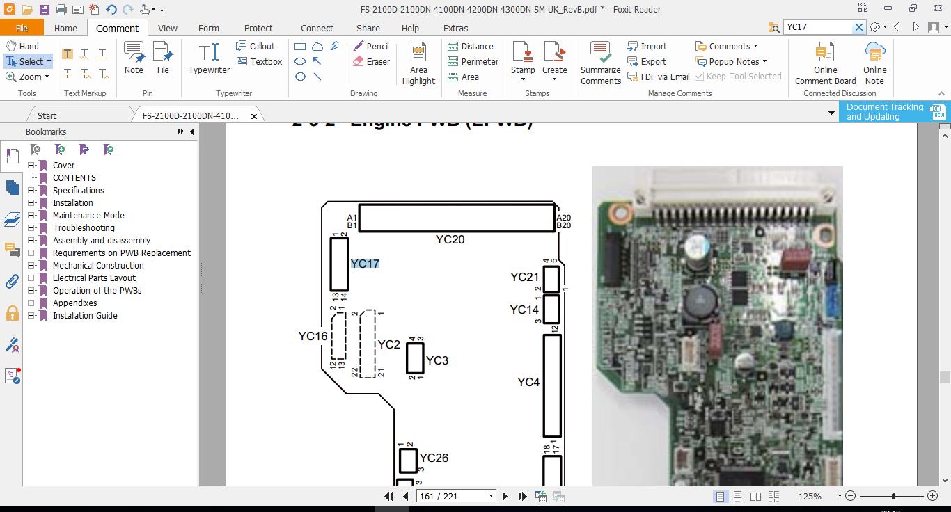 Kyocera FS-4200DN błąd F000 - - elektroda pl