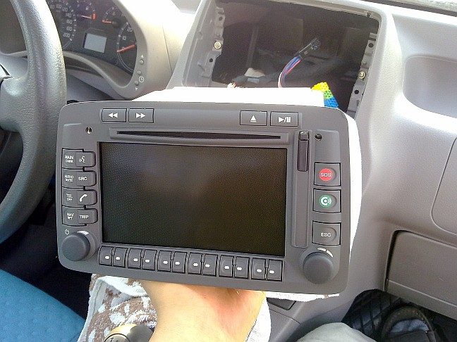 Fiat Panda II - Proxy Alignment - Connect Nav+