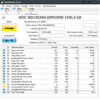 WD Green WD15EARS-00MVWB0 - Wydłużone włączanie komputera, dziwna praca dysku
