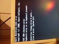 Bios checksum error po w��czeniu w biosie klawiatury USB