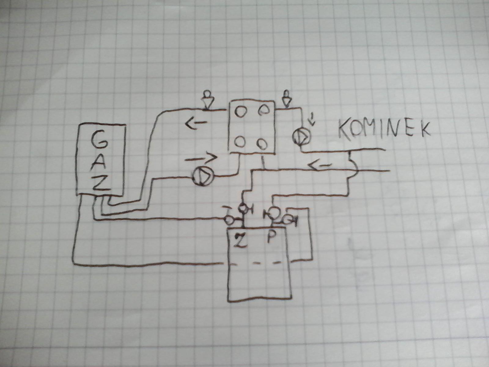 Czy/Jak mo�na pod��czy� CWU do p�aszcza kominka z instalacj� CO?