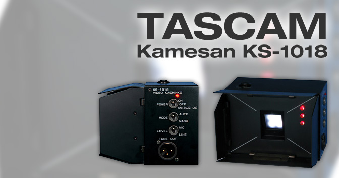 Tascam Kamesan KS-1018 manual EN
