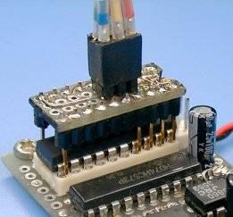AVR8 burn-o-mat v2 - odnalezenie programatora