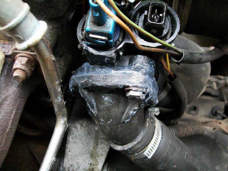 VW Golf II 1.3 kat.1989r.Benzyna Przeciekaj�cy kr�ciec / wyciek oleju z aparatu/