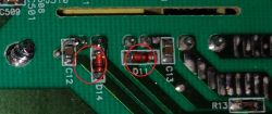 Prostownik BLACK&DECKER BDSBC20A uszkodzona dioda