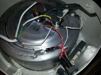 Frytkownica TEFAL F52-1 połączenie kabli