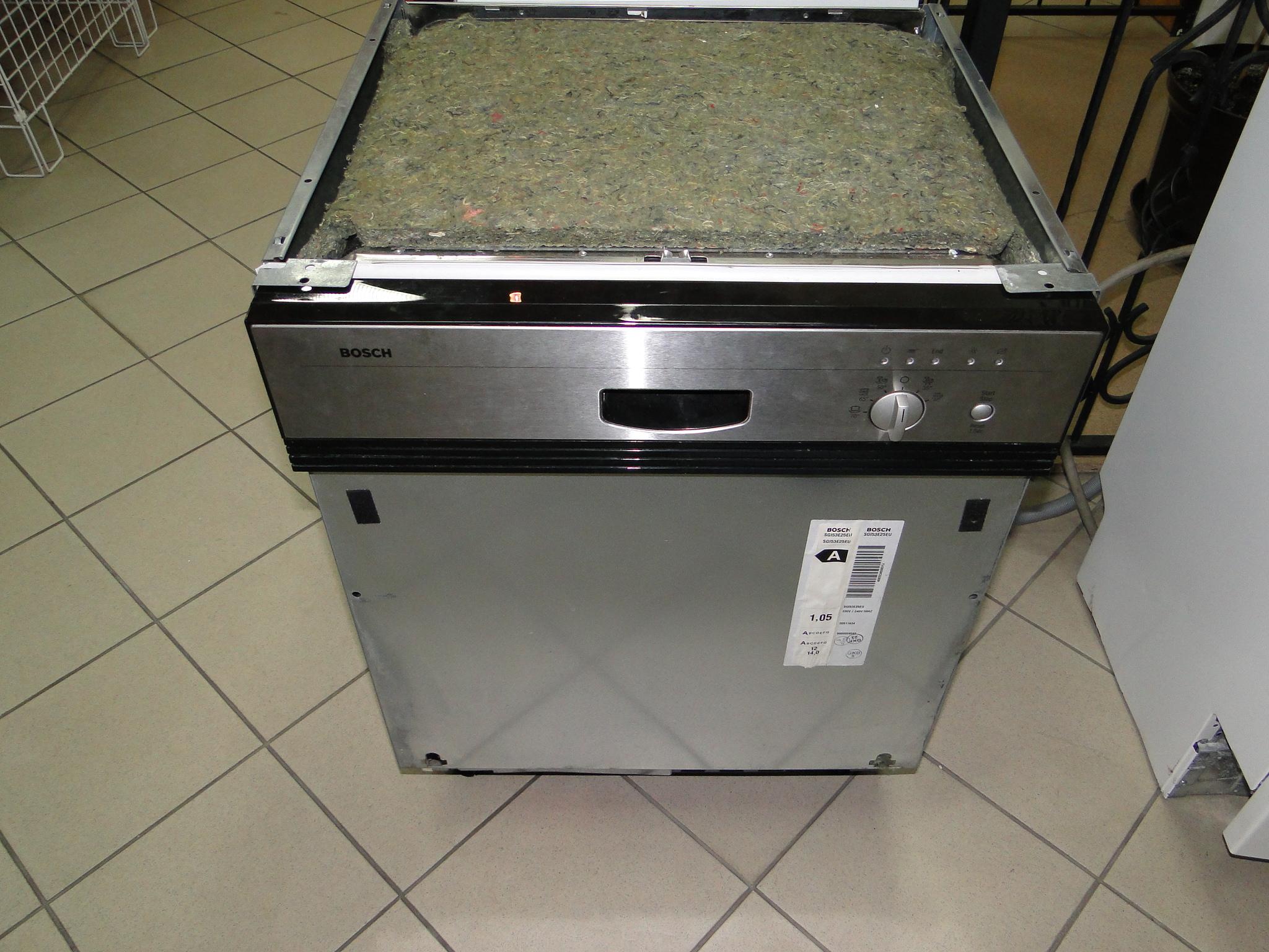 [Sprzedam] Zmywarka Bosch SGI53E25EU (INOX) do zabudowy.