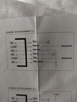 Centralka zamka centralnego Citroen C3 2002. Schemat