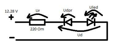 Napięcie wsteczne na diodzie prostowniczej