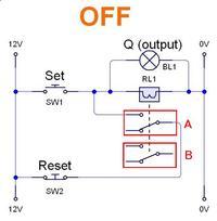 Przekaźnik bistabilny - prównanie wersji dwu i jednocewkowej