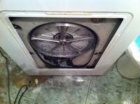 Spadający pasek klinowy (pralka, Candy, CTE 82 TV)