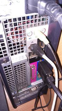 Podłączanie komputera oraz rejestratora video monitoringu do jednego tv