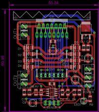 Sprawdzenie rozmieszczenia elementów na płytce prototypowej.
