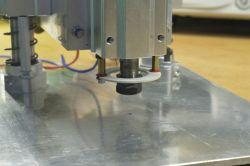 Wiertarka do PCB. Dawcą części - drukarka
