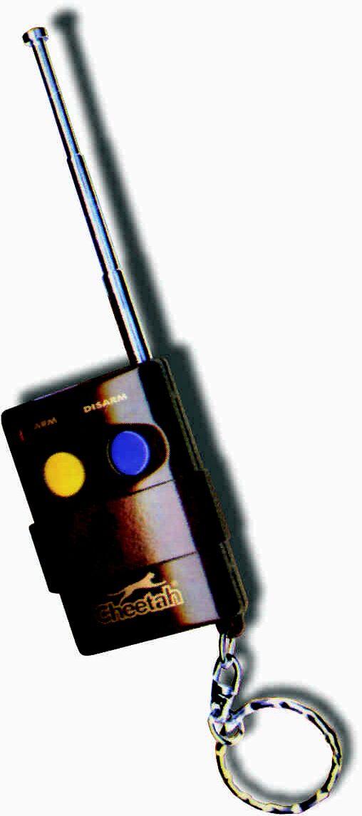 Alarm Cheetah CH-AE Random+ Po w�o�eniu akumulatora alarm si� w��cza.