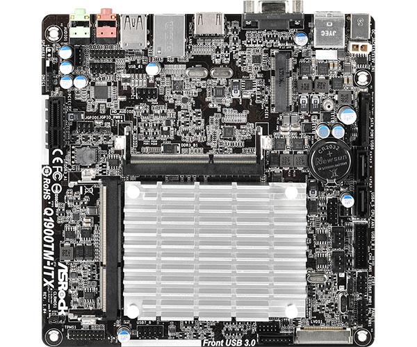 ASRock Q1900TM-ITX - p�yta Mini-ITX z Celeron J1900 i zasilaczem DC-DC