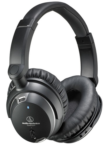 Audio-Technica ATH-ANC9 QuietPoint - s�uchawki z regulowan� redukcj� ha�asu