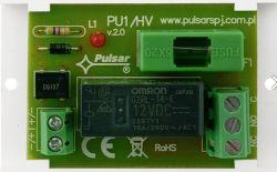 Uruchamianie pompy ogrzewania podłogowego przekaźnikiem 12V/230V