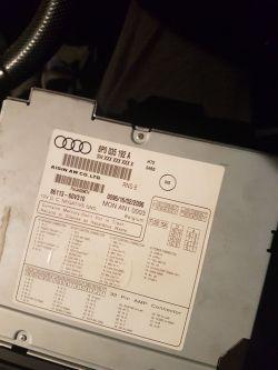 Audi A3 8P - Niska głośność suba i zakłócenia po montażu 2din android9